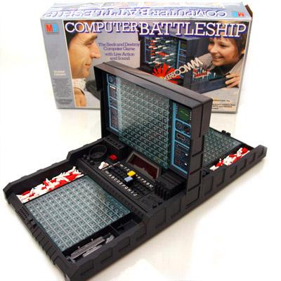 Computer Battleship - Milton Bradley 1977