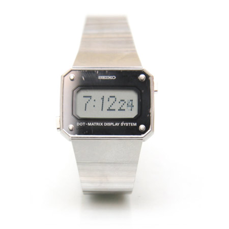 Seiko Dot-matrix wrist watch from 1980